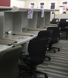中古オフィス家具卸売センター